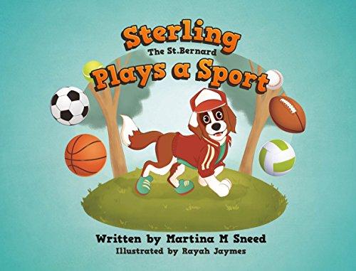 Sterling the St. Bernard Plays a Sport