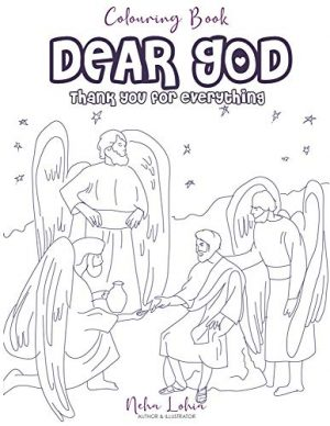 Dear GOD - Thank You For Everything: Colouring Book